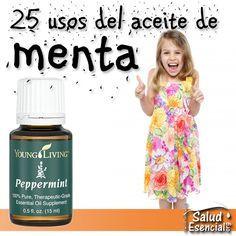 25+ usos de Aceite Esencial Menta Piperita (PEPPERMINT) de Grado Terapéutico