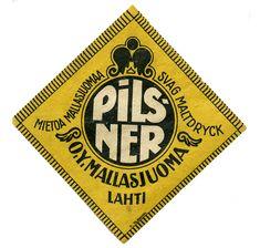 Pilsner #olut #etiketit #beer #labels
