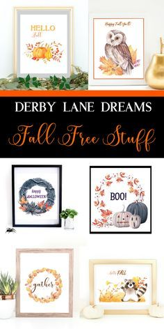 Fall freebies just for you!