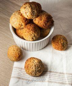 Kuleczki pełne wapnia – bez cukru, bez nabiału, bez jaj, bez mąki - Desery i ciasta