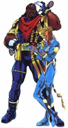 Bishop - X-Men - Marvel Comics
