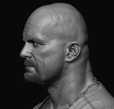 Creating Hyper Realistic Character in ZBrush - with Hossein Diba, Hossein Diba Zbrush Character, 3d Model Character, Character Modeling, Digital Sculpting, 3d Portrait, Portraits, 3d Face Model, Male Profile, Head Anatomy