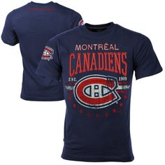 38c09daa13f NHL Montreal Canadiens Big Time T-Shirt - Navy Blue Time T