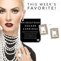 What to look classic at your holiday party? The right earrings will do it. Check out my website for your style today.