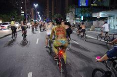 Sao Paulo - Pedalada Pelada reúne ciclistas em SP no sábado (15)