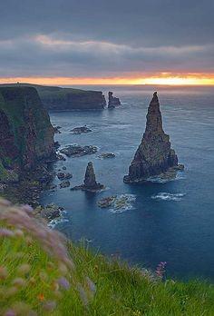 ✯ Duncansby Head Sunrise, Caithness, Scotland