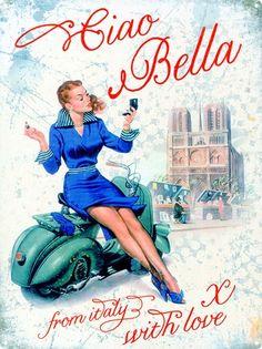 Ciao Bella - Vespa