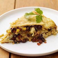 Vegetarian Mexican Lasagna #cincodemayo #myplate
