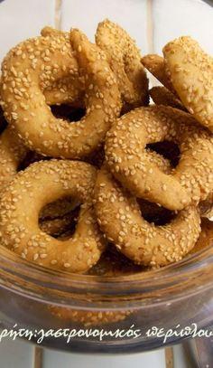 Tried these not as crunchy as i would want Greek Sweets, Greek Desserts, Greek Recipes, Vegan Desserts, Greek Cookies, Almond Cookies, Koulourakia Recipe, Sweets Recipes, Cooking Recipes
