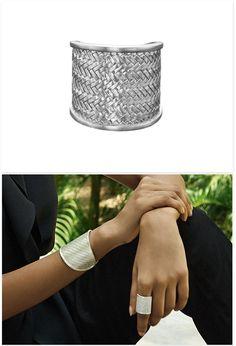 Ring 'Palmyrah' Silver