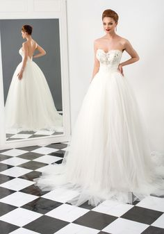 Bien Savvy 2015 Wedding Dresses — Love Me Forever Bridal Collection White Wedding Gowns, Stunning Wedding Dresses, 2015 Wedding Dresses, Beautiful Gowns, Bridal Dresses, Ivory Wedding, Gown Wedding, Wedding Ceremony, The Bride