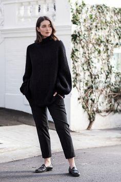 Oversized | street style | HarperandHarley