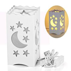 Pandawill® Art Light White Table Light with Moon and Star... https://www.amazon.com/dp/B019F6YTBA/ref=cm_sw_r_pi_dp_0DFwxbJKY1JP5