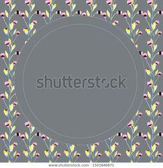 Bright Flowers, Tapestry, Frame, Illustration, Decor, Hanging Tapestry, Decoration, Tapestries, Decorating