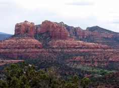Cthedral Rock from Red Rock Loop Road