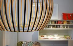 Octo 4240 pendant by Secto Design featured in a lovely post by the blogger AnneLiWest Berlin.