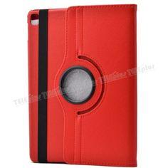 iPad Pro 9.7 inç 360 Derece Dönebilen Standlı Kılıf Kırmızı -  - Price : TL34.90. Buy now at http://www.teleplus.com.tr/index.php/ipad-pro-9-7-inc-360-derece-donebilen-standli-kilif-kirmizi.html