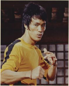 Bruce Lee in Game of Death directed by Robert Clouse and Sammo Hung Kam-Bo, 1978