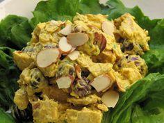 Salade de poulet au cari « Maigrir Sans Faim