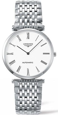 Longines Watch La Grande Classique #bezel-fixed #bracelet-strap-steel #brand-longines #case-material-steel #case-width-36mm #delivery-timescale-call-us #dial-colour-white #gender-mens #luxury #movement-automatic #new-product-yes #official-stockist-for-longines-watches #packaging-longines-watch-packaging #style-dress #subcat-la-grande-classique-de-longines #supplier-model-no-l4-908-4-11-6 #warranty-longines-official-2-year-guarantee #water-resistant-30m