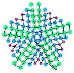 beaded starfish pattern