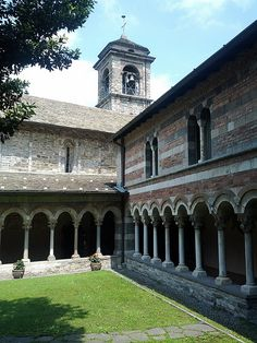 Abbey of Piona ~ Lecco, Italy