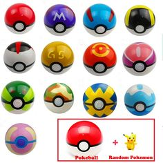 13 Style Pokeball 1Pcs Ball + 1pcs Free Random Figures Masterball Greatball  Anime Super Master Toys Kids Christmas Gift #>=#>=#>=#>=#> Click on the pin to check out discount price, color, size, shipping, etc. Save and like it!