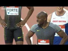 Jimmy Vicaut 9.96 Wins Men's 100m Heat 2 London Diamond League  2016