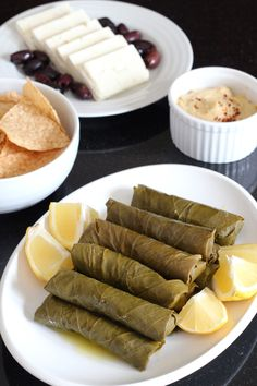 Dolmas (Stuffed Grape Leaves) | Wheat-Free Meat-Free