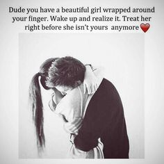 Boys take notice when you have a girl that care for you so much don't take her for granted she wont be around for ever. so show her how much she means to you.