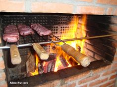 Churrasco Barbecue, Sausage, Meat, Food, Filet Steak, Barrel Smoker, Sausages, Essen, Bbq
