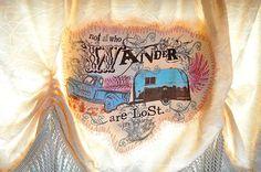 MIRANDA LAmbert's airstream by junk gypsy | junk gypsy curtain. Miranda lambert airstream. | My Wants