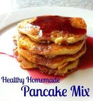 Healthy Homemade Pancake Mix