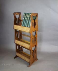 Beautiful Arts and Crafts Shelf
