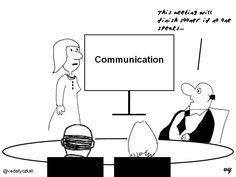 Business Cartoons - Communication...