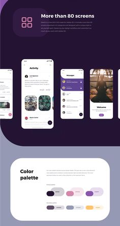 Social Meet Up is a free iOS UI Kit made for Adobe XD. It includes more than 80 screens organized in 6 categories and designed with a unique style to set yourself apart. Speed up your design workflow and customize it as much as you want with Adobe XD. Web Design, App Ui Design, Mobile App Design, Interface Design, Interface App, Android Design, Graphic Design, Mobile Application Design, Application Design