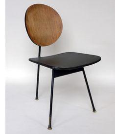 three-legged side chair