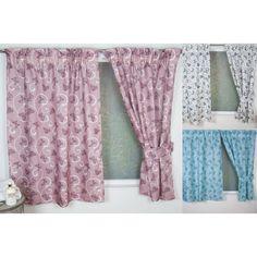 Papillon Bathroom Curtains - Available in 3 Colours