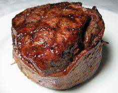 Grilled Filet Mignon Wrapped in Bacon | Ezra Pound Cake