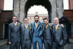 dapper groomsmen style   www.onefabday.com