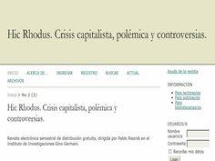 Revista semestral dirigida por Pablo Rieznik. Editada desde 2011.
