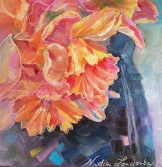 "Daily Paintworks - ""Confetti II"" - Original Fine Art for Sale - © Nadia Louderback"