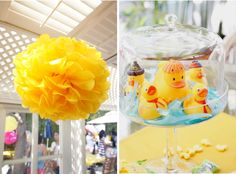 Dual Baby Shower Ideas | Rubber Ducky Baby Shower