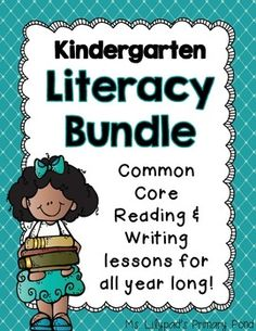 Kindergarten Literacy Bundle (writing Workshop And Reading Comprehension)