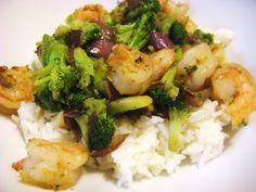 Garlic Shrimp & Broccoli