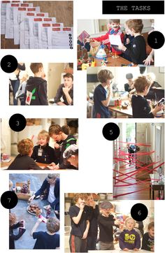 A Spy Theme Birthday Party: read all about it on the blog!