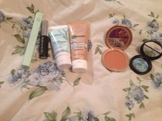 Laura Geller Blue Icing; Stila Bronzer  **TRADED**; Mini Bare Minerals Buxom Lash-TRADED; Nick Chavez Yucca Root Shampooing Cream; Mally Evercolor Waterproof Eyeliner in Onyx; Garner BB Cream in Light/Medium - All new and used except Stila bronzer used 1-2X and Garnier BB cream used 2-3X