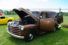 New month and new stories at MSCC. here's one about an ex-military '53 Chevy panel. Here's the link: http://mystarcollectorcar.com/january-2017-53-chevy-1300-panel-delivery-a-storied-history-for-a-working-truck/ #53Chevypanel