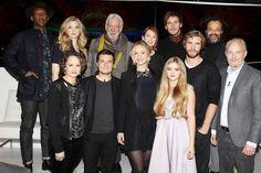 Panem Propaganda - The Hunger Games News - The 'Mockingjay Part 1' New York Press Conference