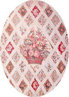 The famous Jane Austen quilt...beautiful!